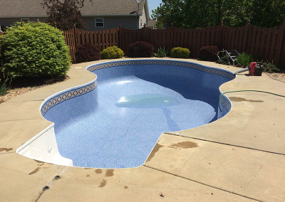 New Inground Pool Liner 1
